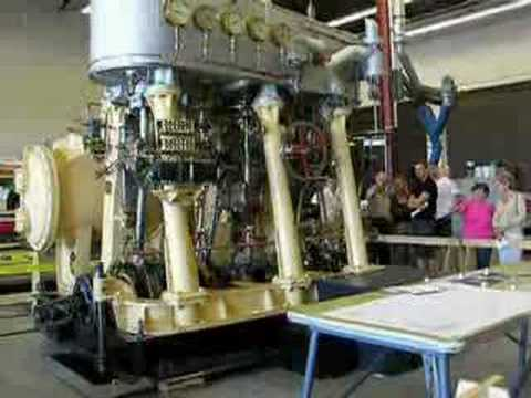 C P Edwards Triple Expansion Steam Engine Youtube
