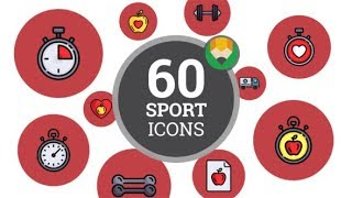 Best wordpress plugin - http://taketemplate.com download now 'healthy lifestyle fitness sport icon set flat animated icons' – https://videohive.net/item/he...