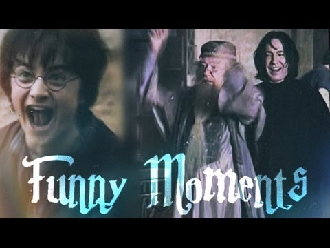 Harry Potter Funny Moments Youtube