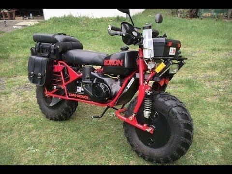 2x2 motorcycle rokon trail