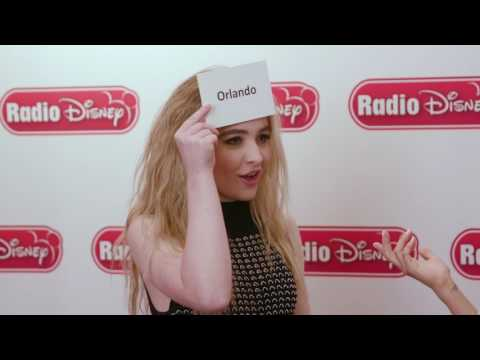 Sabrina Carpenter - Guess The De-Tour City | Radio Disney