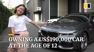 12-year-old YouTuber and makeup artist buys US$190,000 car for her birthday