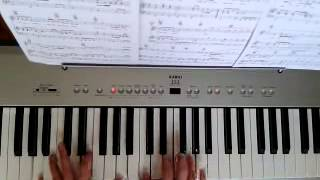 Mika Good gone girl, cover piano