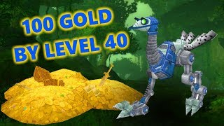 100 GOLD BY LEVEL 40 | MOUNT MONEY | CLASSIC WoW