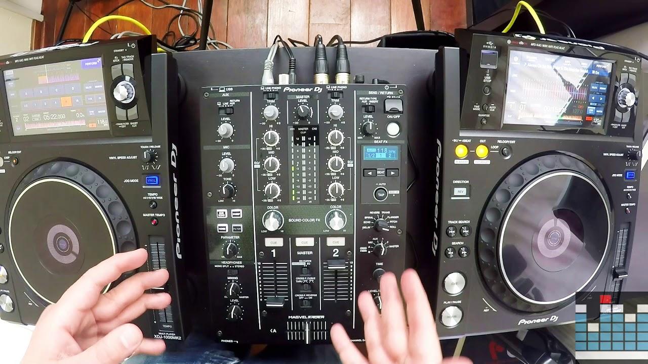 Mi revisi n de la mesa de mezclas pioneer dj djm 450 - Mesa dj pioneer ...