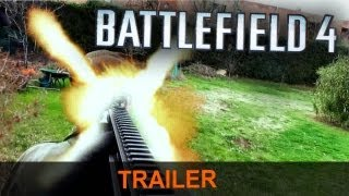 BATTLEFIELD 4 TRAILER [HD] (Real Life)
