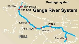The Ganga River system Physical Geography of India