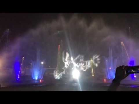 Lucknow musical 3d fountain River front