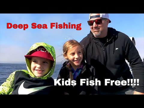 Avila Beach Deep Sea fishing. Kids Fish Free!!!