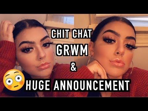CHIT CHAT GRWM ♡ LIFE UPDATE & HUGE ANNOUNCEMENT?! | Marissa Paige