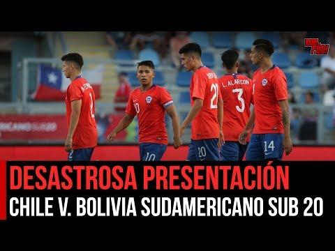 La Sub 20 es más de lo mismo | Análisis Chile vs Bolivia Sudamericano sub 20