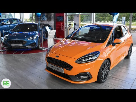 Ford Focus ST 2019 & Fiesta ST Limited Edition Walkaround & Specifications