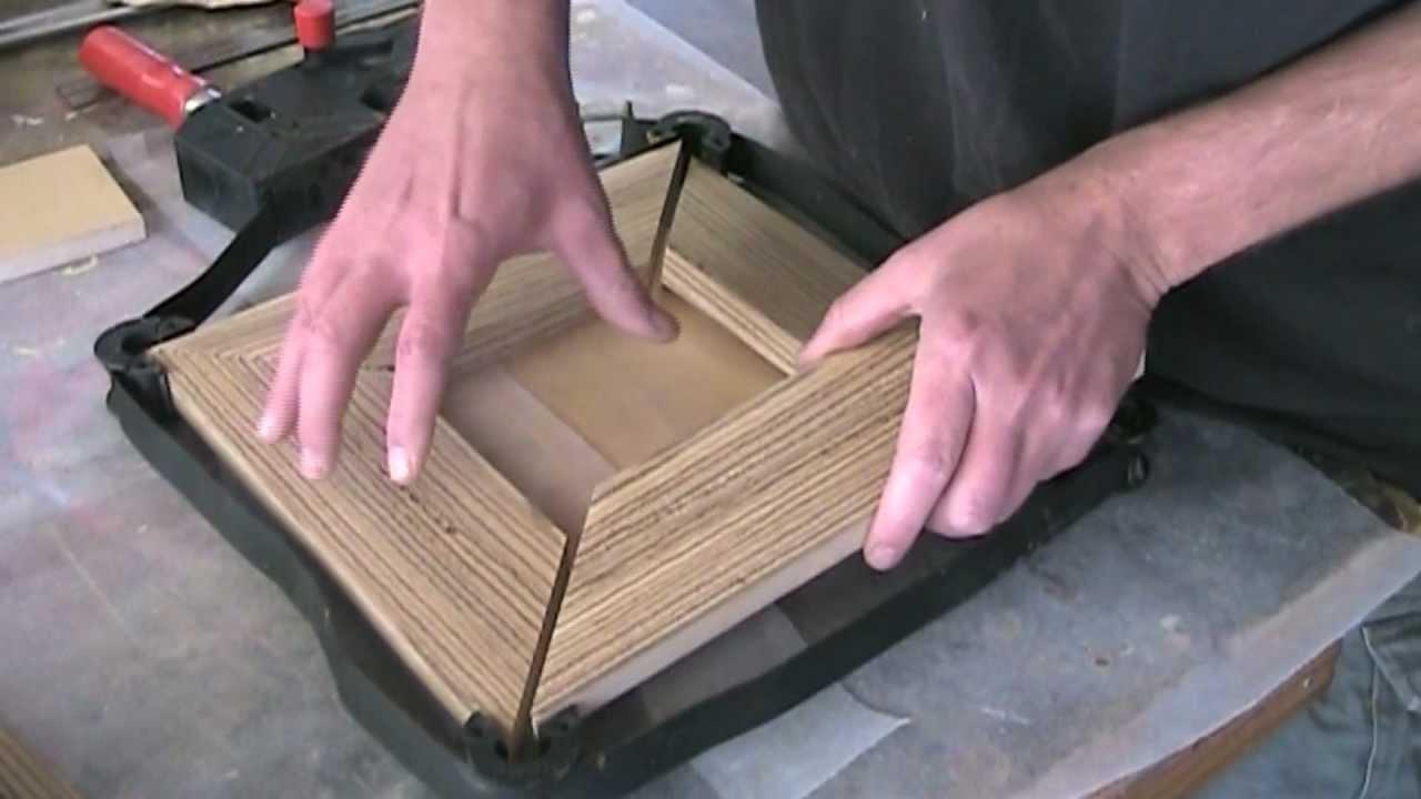 Make a lighted shadowbox - YouTube