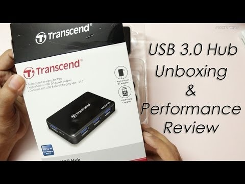 Transcend USB 3.0 4 Port Powered USB Hub Review