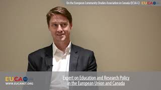Dr. Conrad King on the European Community Studies Association in Canada (ECSA-C)