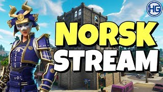 🔴CUSTOM GAMES MED ROBTHESIR! // Norsk Fortnite Stream // Creator Code: HIGHGROUND