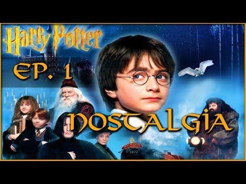 HARRY POTTER Y LA PIEDRA FILOSOFAL  EP. 1 || NOSTALGIA