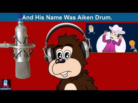 Naughty George Sings...Aiken Drum | Animated Nursery Rhymes With Lyrics From SmileKids TV