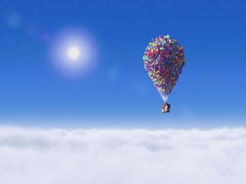 Мультфильм где дом улетел на воздушных шарах