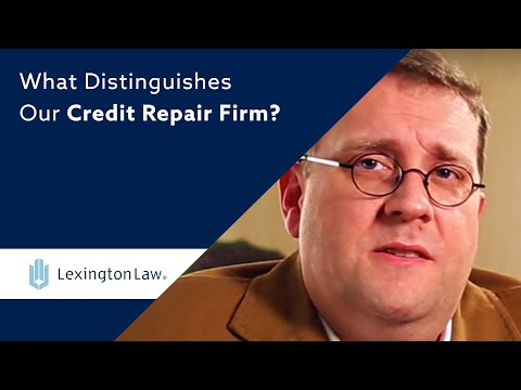 What Distinguishes Our Credit Repair Firm? | Lexington Law