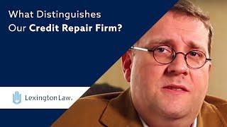 What Distinguishes Our Credit Repair Firm? | Lexington Law thumbnail