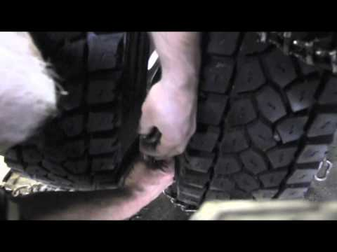 How to Install Tire Chains on a Commercial Vehicle