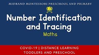 Montessori Mathematics Presentation - Number Identification and Tracing