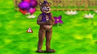 FREDDY GOT POSSESSED BY GLITCHTRAP.. | FNAF World Adventure (Five Nights at Freddy's)