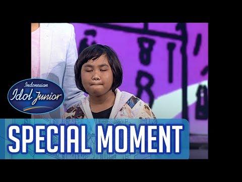Tegar! Ini Cerita GOGO Tentang Kepergian Mamanya - TOP 8 - Indonesian Idol Junior 2018