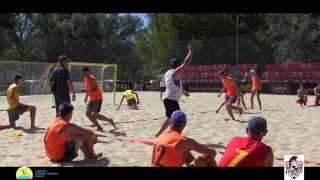 LegionXXI - Сборная мол. Украины (обзор голов) Пляжный гандбол, мужчины Чемпионат Украины