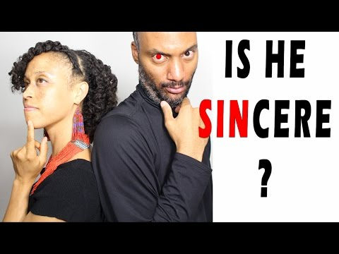 Is He Being Sincere? ~ Signs That A Woman Can Look For