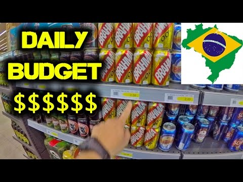 Daily Travel Budget $$$ in BRAZIL - WHAT YOU NEED TO KNOW [