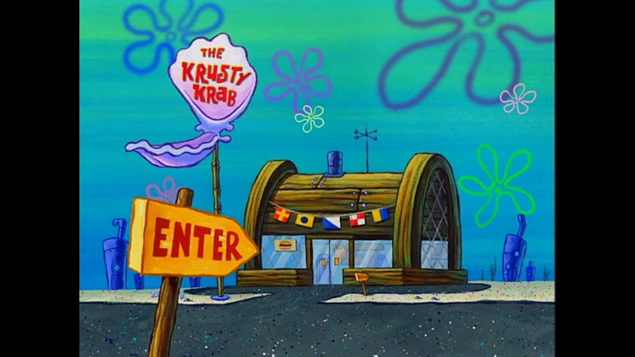 minecraft the krusty krab restaurant part 1 youtube