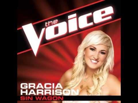 """Gracia Harrison: """"Sin Wagon"""" - The Voice (Studio Version)"""
