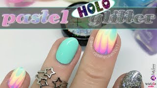 BECAUSE PASTEL RAINBOWS GIVE ME LIFE! | WITH HOLO... IT'S EVERYTHING!