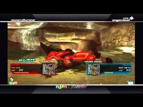 Tekken Busters 테켄 버스터즈 Episode 4 Hello Friends vs. Gaxini 31/05/12