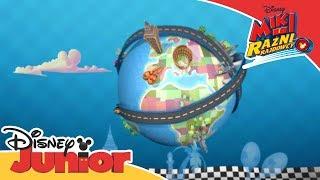 Miki i raźni rajdowcy - Interaktywne wideo: Odkrywaj świat z Mikim i przyjaciółmi!