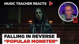 Music Teacher Reacts to Falling In Reverse \