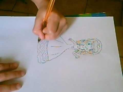 Manga tuto princesse 2 youtube - Comment dessiner une princesse disney ...