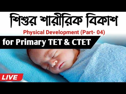 Physical Development In Adolescent (শিশুর শারীরিক বিকাশ) For Primary TET, CTET 2020 | Bong Education