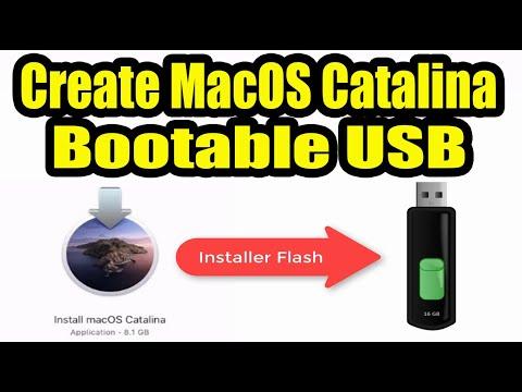 Create MacOS Catalina USB Installer Disk. Simple Method.