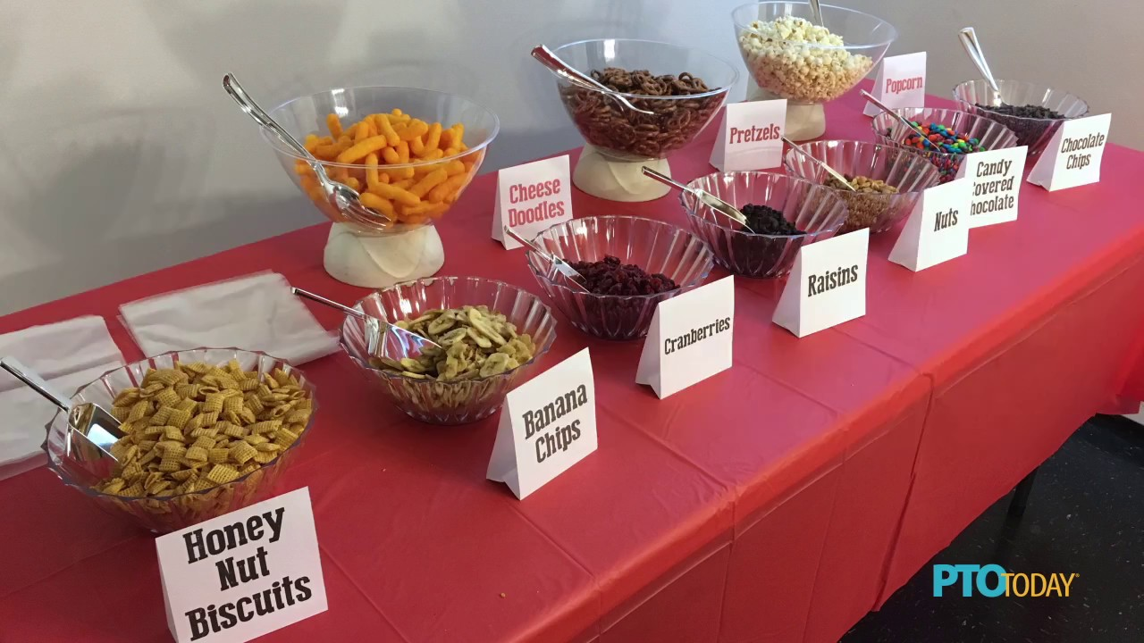 How To Set Up A Trail Mix Bar