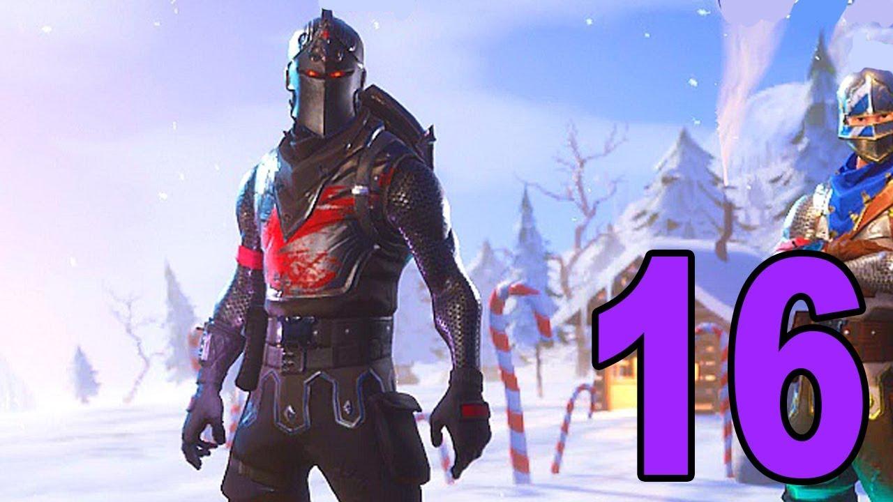 Black Knight Legendary Skin Fortnite Battle Royale Part 16 Youtube