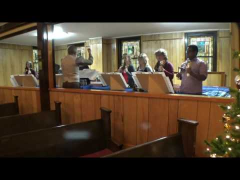 Angels We Have Heard On High performed by a 2 octave handbell choir
