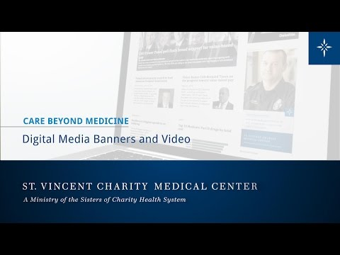 St. Vincent Charity - Digital Media Comps