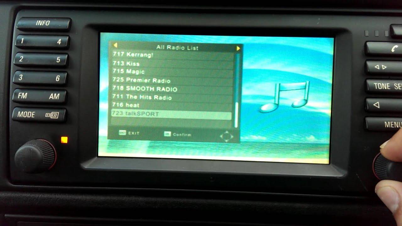 Bmw Full Digital Tv And Dab Radio Conversion Youtube