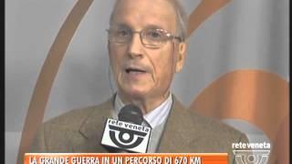 BASSANO TG - 09/12/2015 - LA GRANDE GUERRA IN UN PERCORSO DI 670 CHILOMETRI