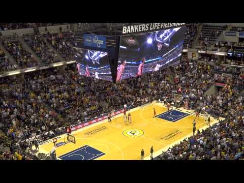 Indiana Pacers at Bankers Life Fieldhouse Make Noise
