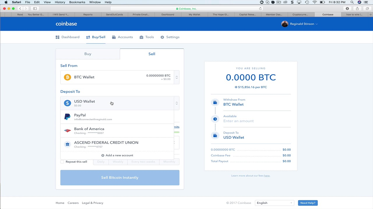 How To Wire Funds Into Coinbase Bitcoin