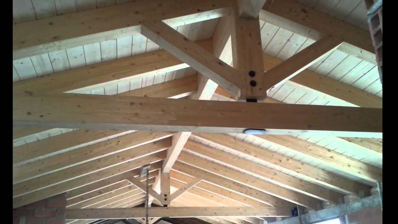Cubierta de madera en valencia youtube for Como hacer tejados de madera